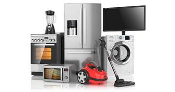 photo de plusieurs équipements d'électro ménager