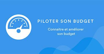 Visuel de l'application Pilotebudget