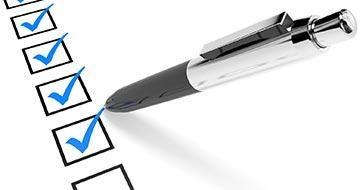image d'une check liste