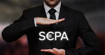texte SEPA homme en costume