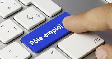 clavier Pôle emploi