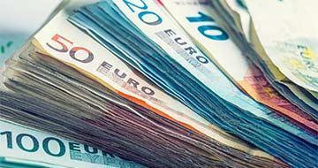 liasse de billets en euros