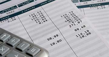 bulletin de paie et calculatrice