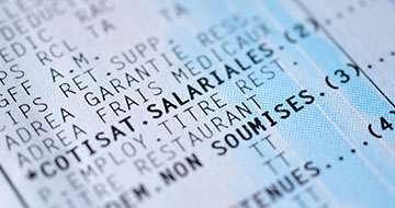 image cotisations salariales